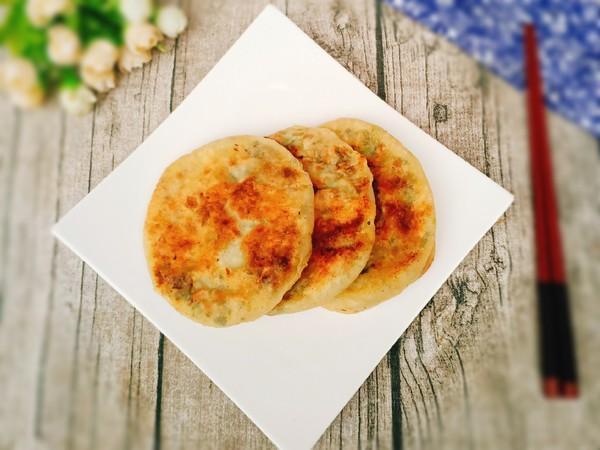 香菜肉饼的制作方法