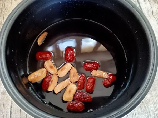 桂圆红枣黑米粥怎么炒