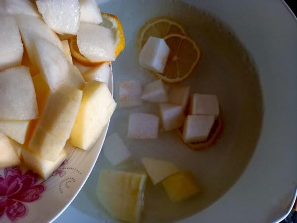 柠檬水果甜汤怎么吃