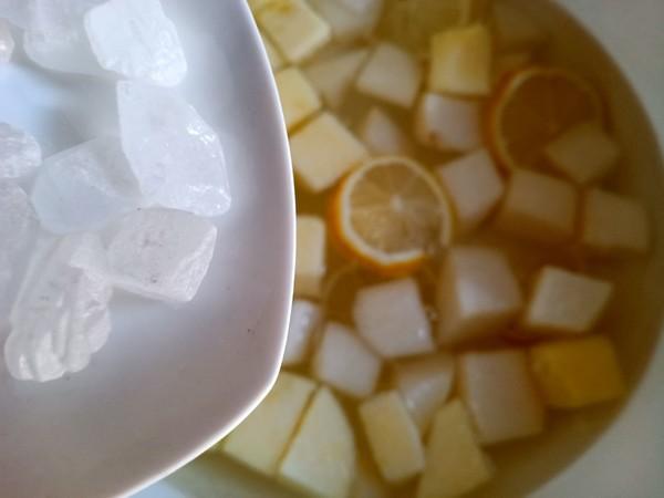 柠檬水果甜汤怎么做