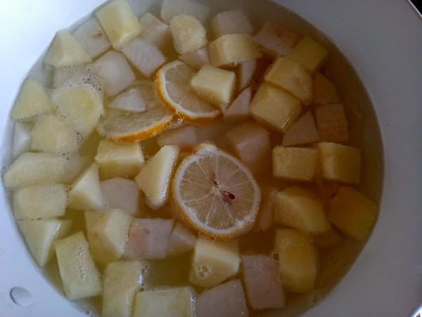 柠檬水果甜汤怎么炒