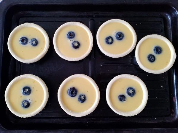 爆浆蓝莓蛋挞怎么煸