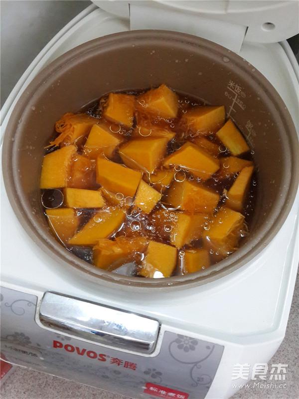 酱油南瓜饭怎么做