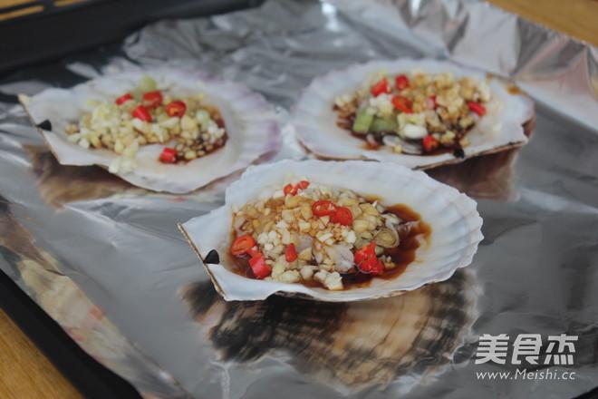 蒜蓉烤扇贝的简单做法