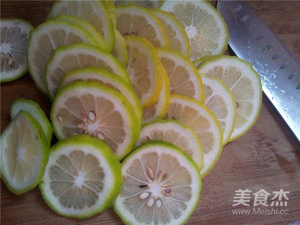 糖渍柠檬的家常做法