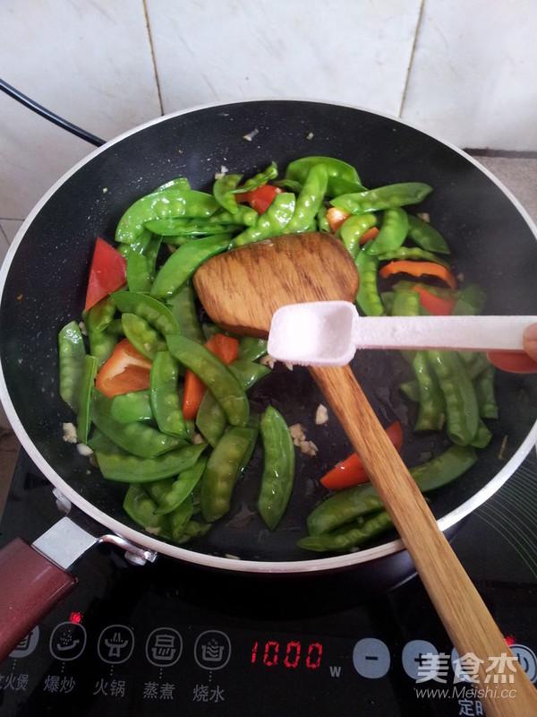 红椒炒扁豆怎么煮