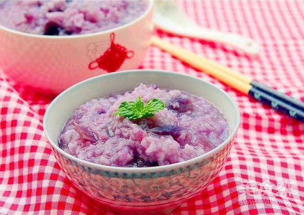 紫薯粥怎么做