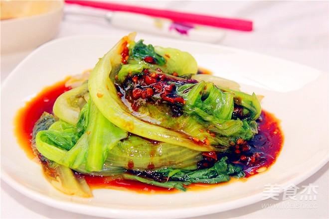 蚝油拌生菜成品图