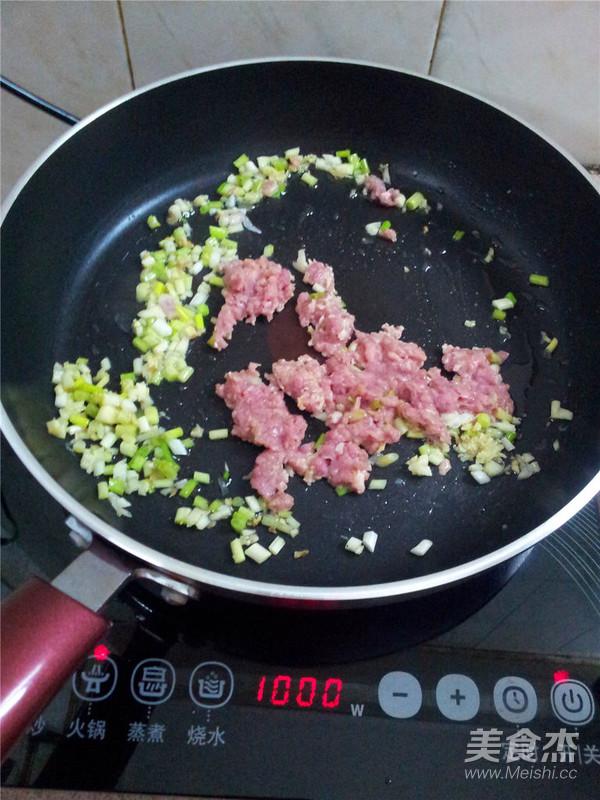 肉末豆腐的简单做法