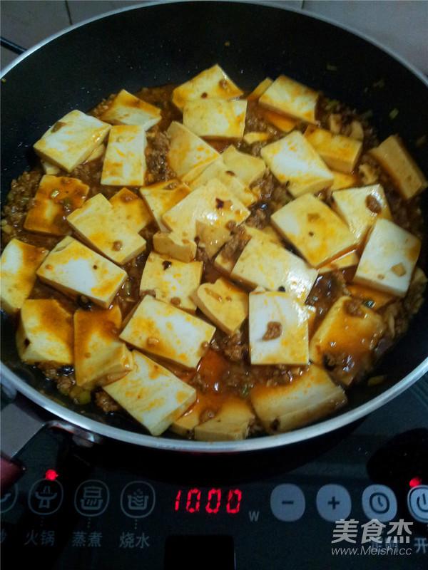 肉末豆腐怎样做