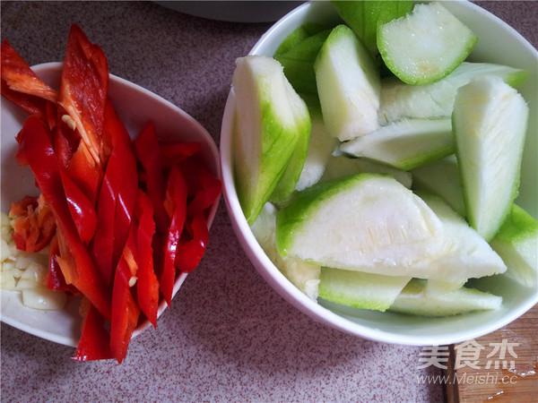 辣椒炒丝瓜的做法图解