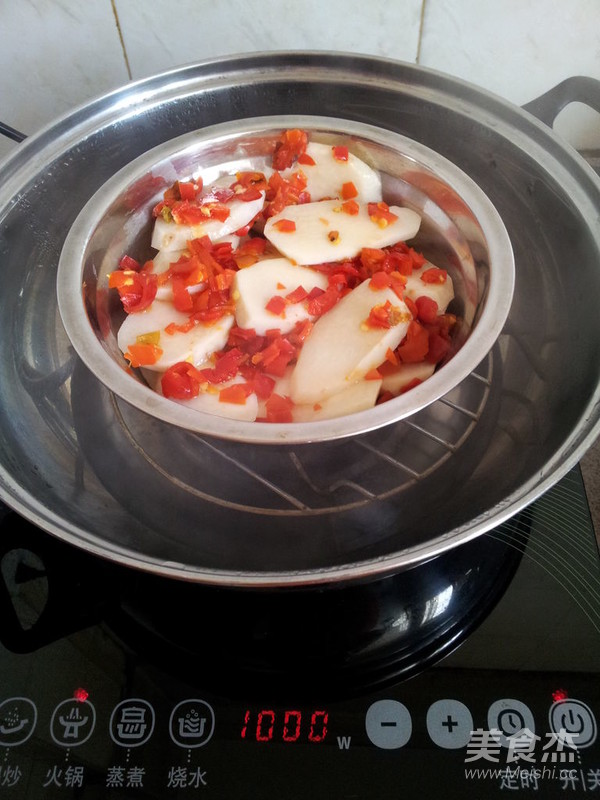 剁椒芋头怎么吃