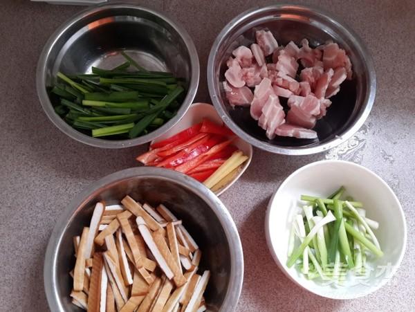 豆干炒肉的做法大全