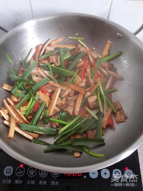 豆干炒肉怎么煮