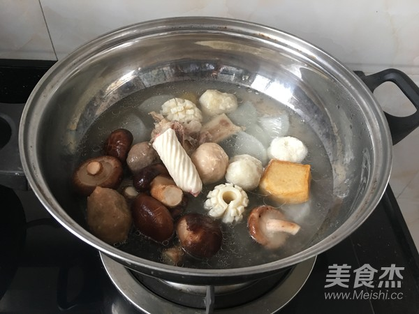 清汤小火锅怎么吃