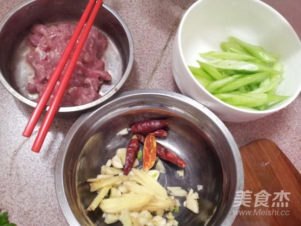西芹炒肉的做法大全