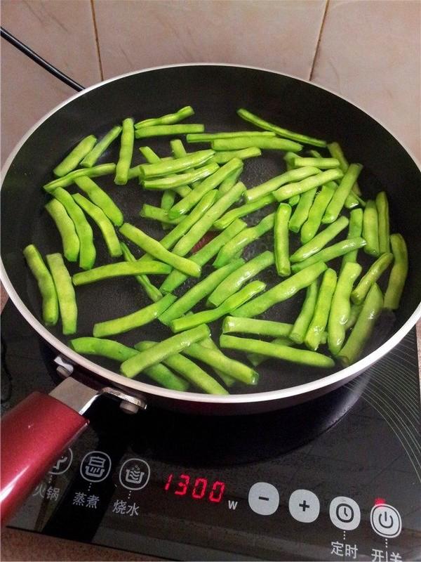 四季豆炒肉的家常做法