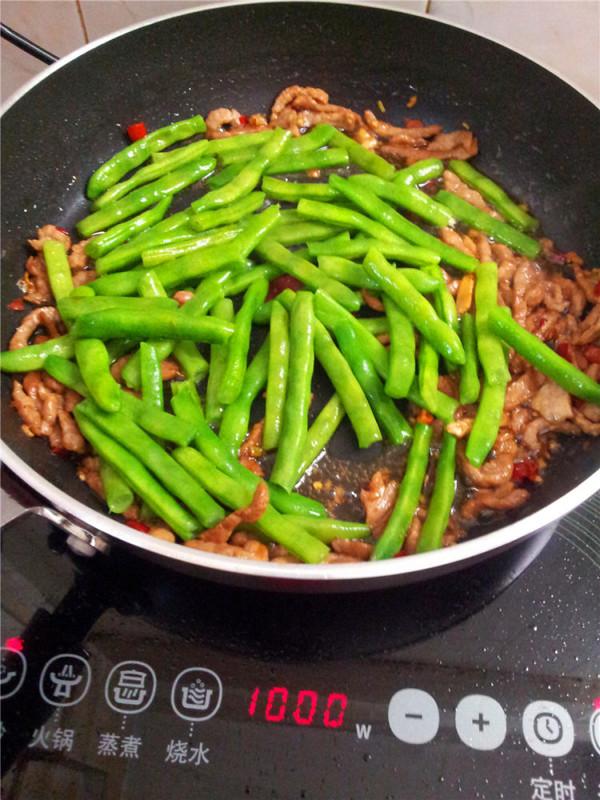 四季豆炒肉怎样做
