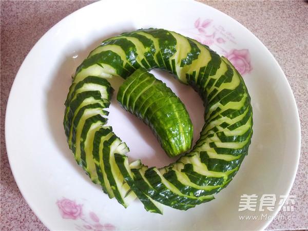 蓑衣黄瓜的简单做法