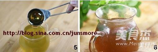 蜂蜜薄荷茶的家常做法