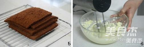 奶酪夹心巧克力蛋糕的家常做法