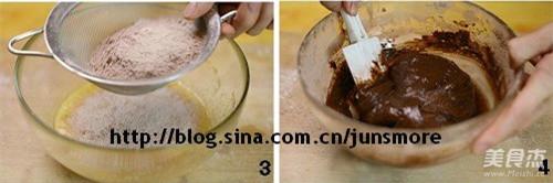 乳酪巧克力蛋糕的做法图解