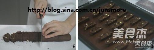 巧克力坚果脆饼怎么吃