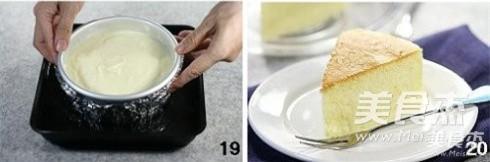 轻乳酪蛋糕怎么煸