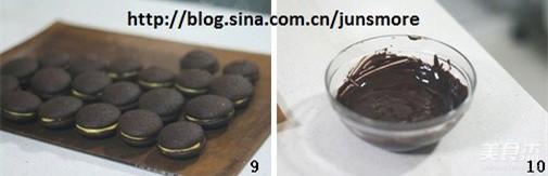 巧克力奶油夹心派怎么吃