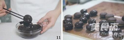 巧克力奶油夹心派怎么做