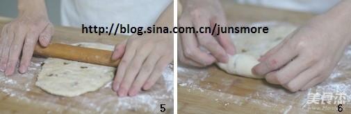 全麦葡萄干面包的家常做法
