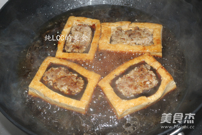 酿豆腐的步骤