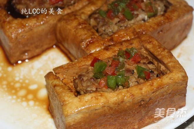 酿豆腐成品图