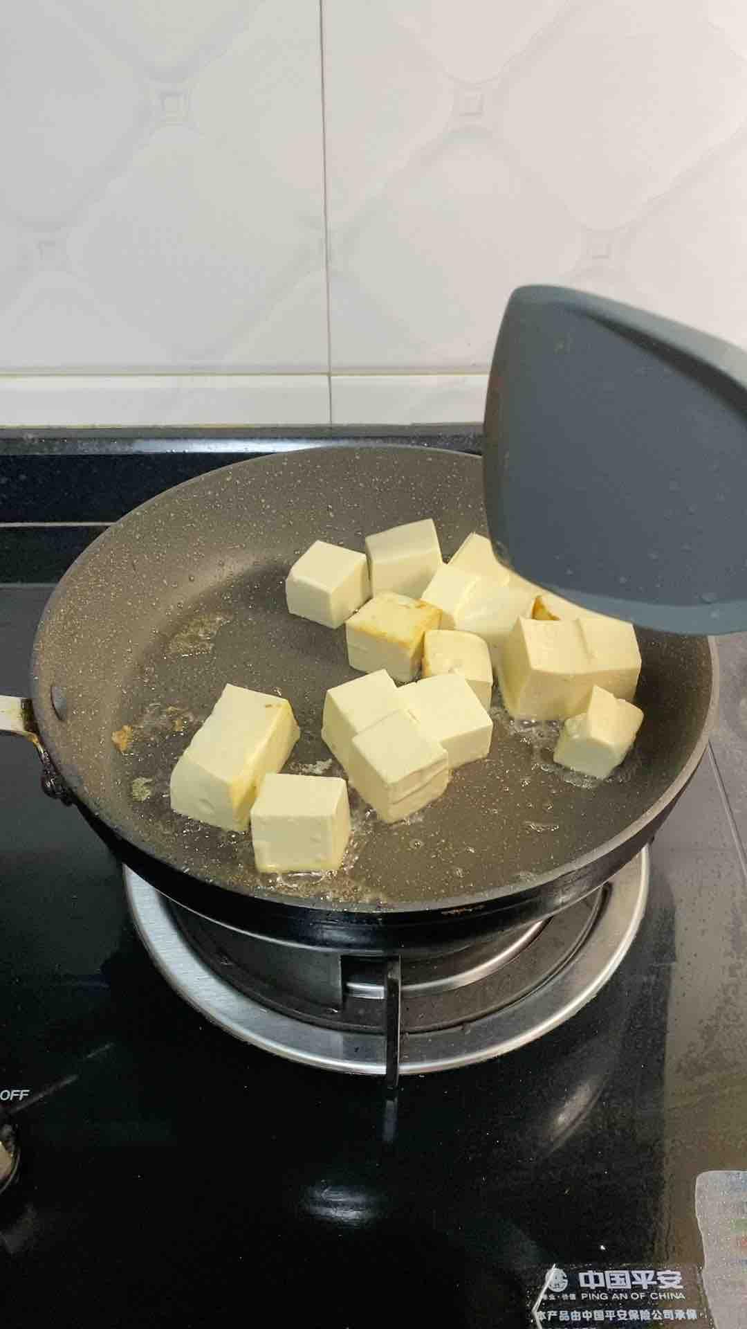 香葱焖豆腐的家常做法