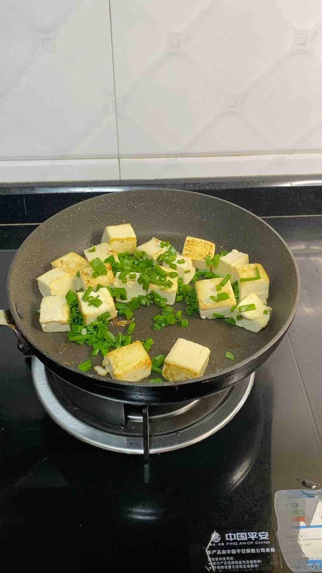 香葱焖豆腐的简单做法