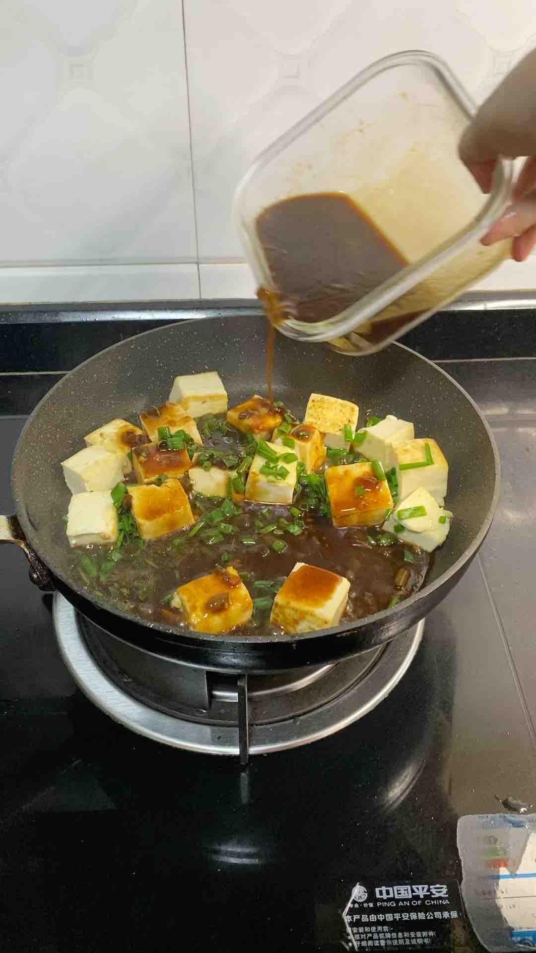 香葱焖豆腐怎么吃