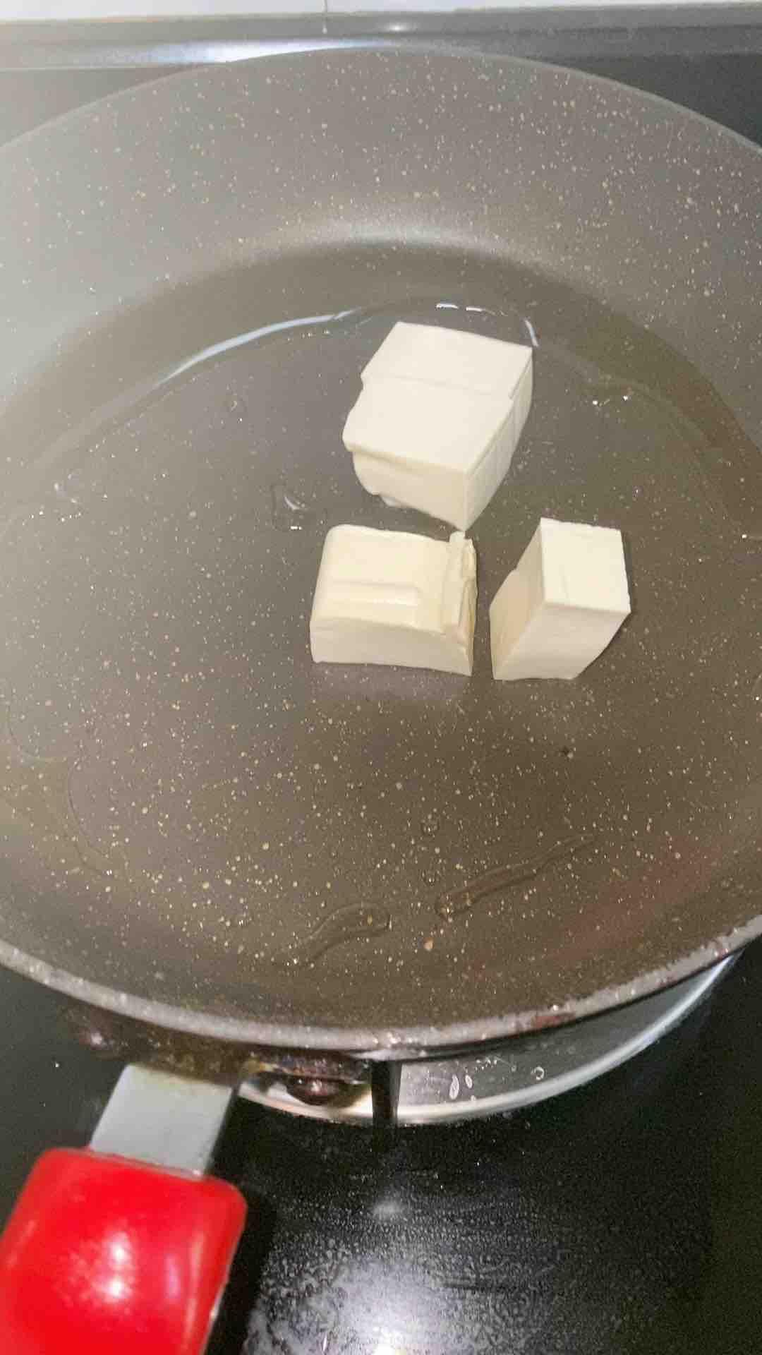 红烧豆腐焖肉沫的做法图解