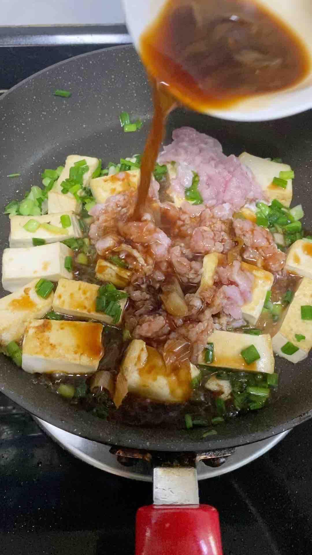 红烧豆腐焖肉沫怎么做