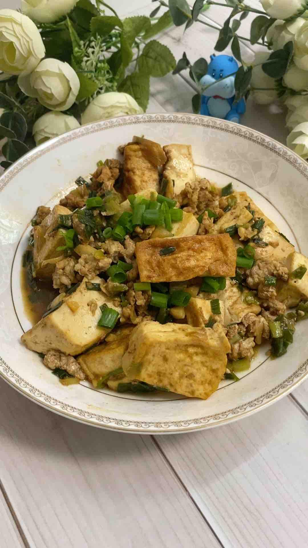 红烧豆腐焖肉沫怎么煮