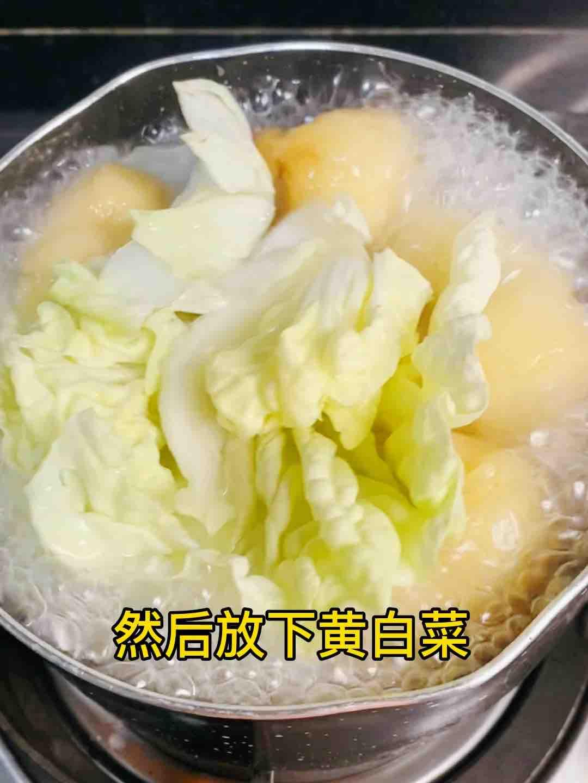 油豆腐白菜粉丝煲,鲜美不清淡,好吃光盘的家常做法