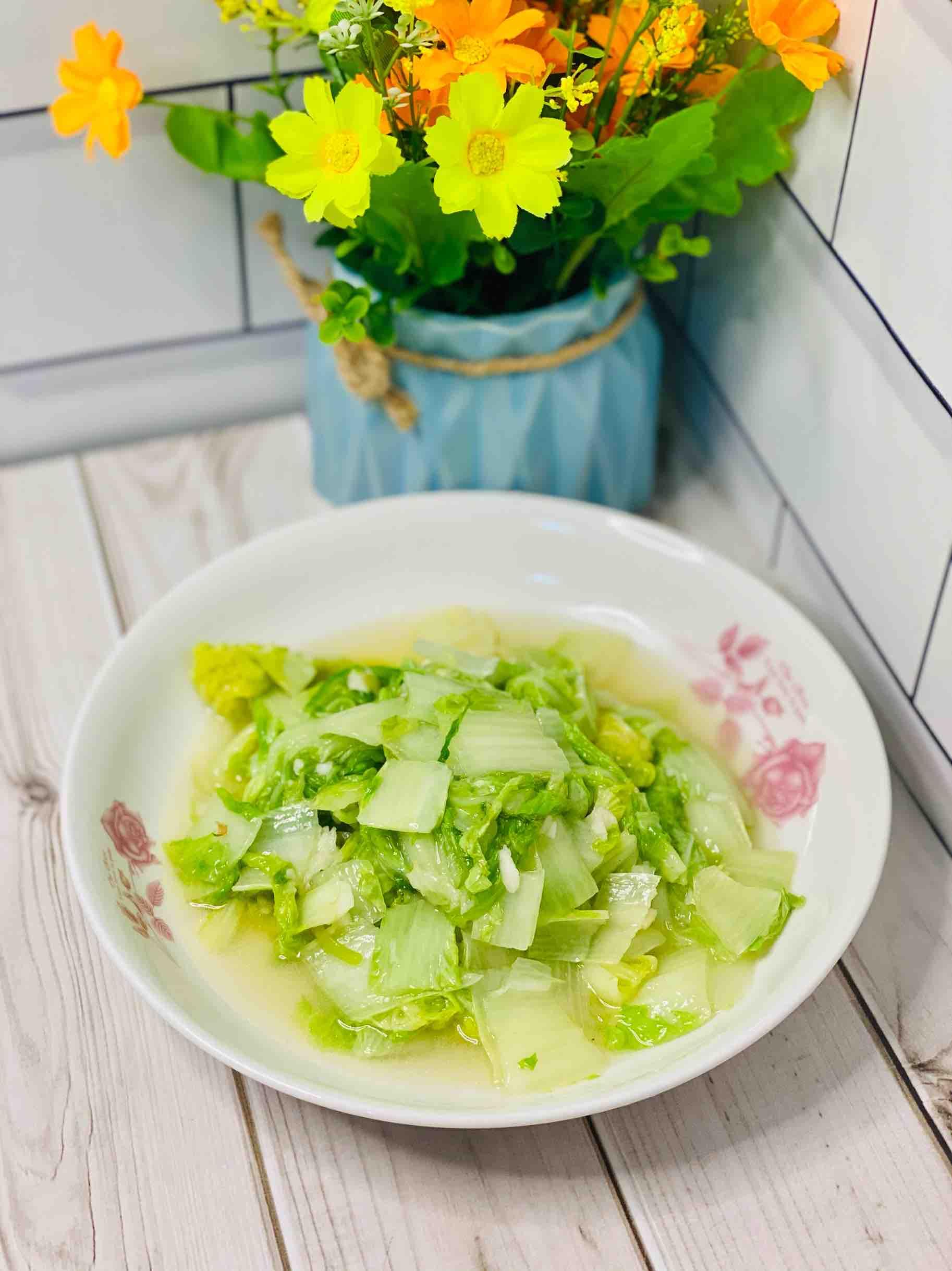 家常快手菜❗银丝白这样炒,味道鲜美超好吃成品图
