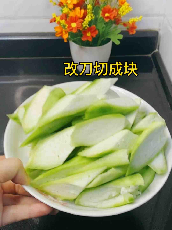 丝瓜这样炒,比山珍海味还美味,10条不够吃❗️便宜超好吃的做法图解