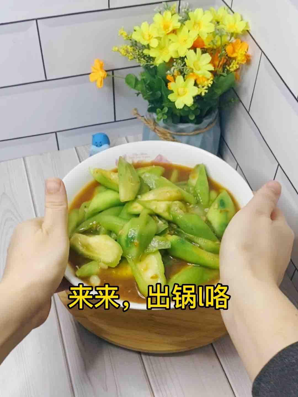 丝瓜这样炒,比山珍海味还美味,10条不够吃❗️便宜超好吃怎么煸