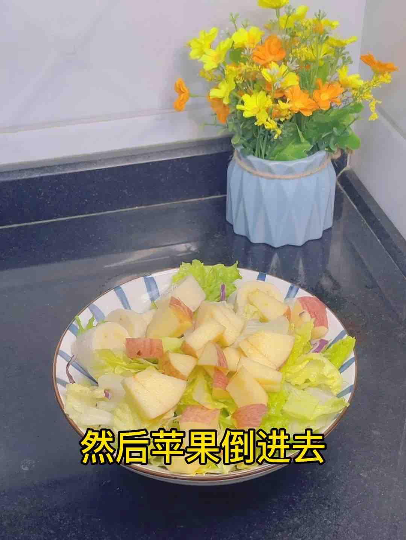 没看错,水果入菜,低卡生活,酸甜开胃,健康又美味的步骤