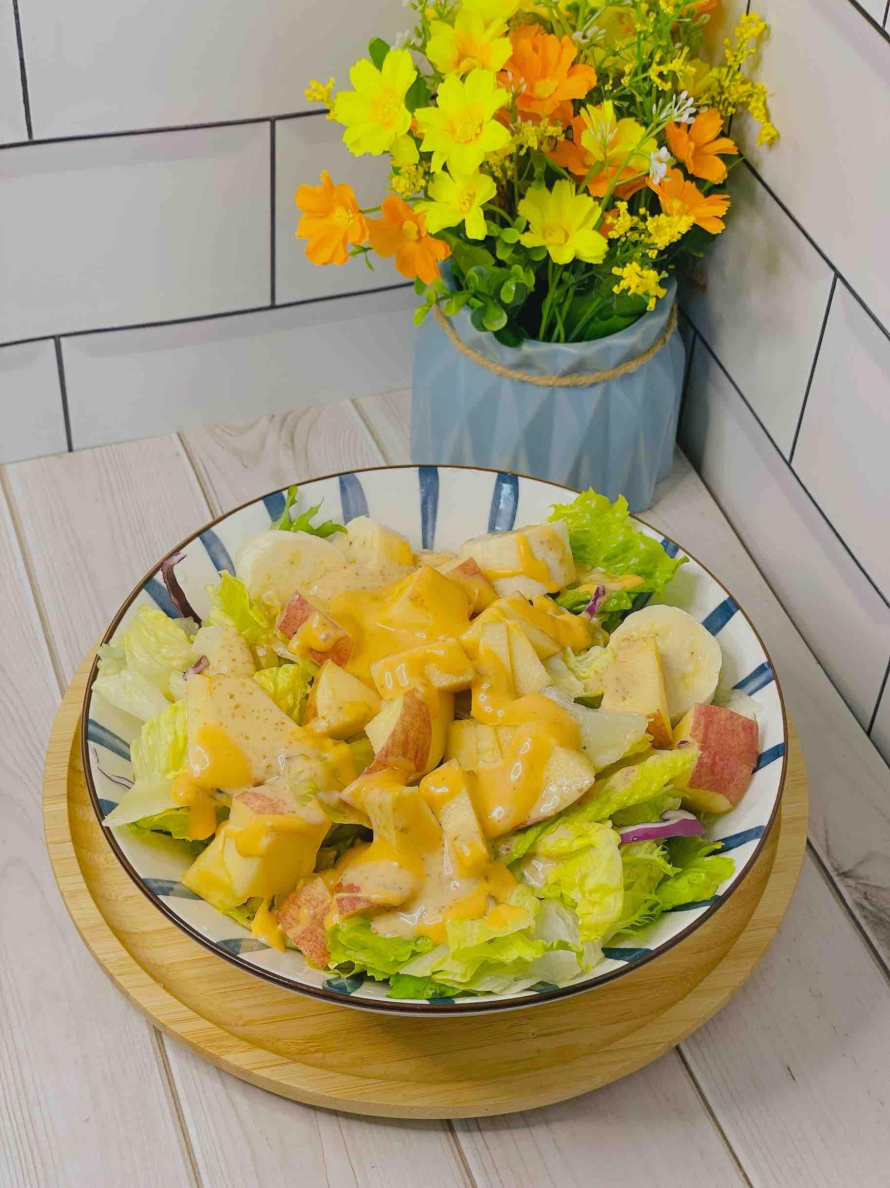 没看错,水果入菜,低卡生活,酸甜开胃,健康又美味成品图
