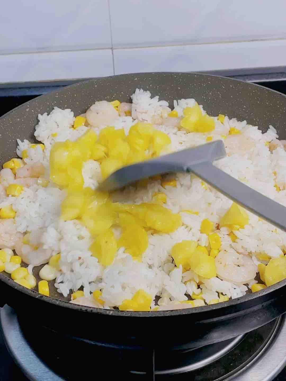 惊艳了的菠萝虾仁炒饭❗️❗️开胃又开心,东南亚风情美味怎么炒