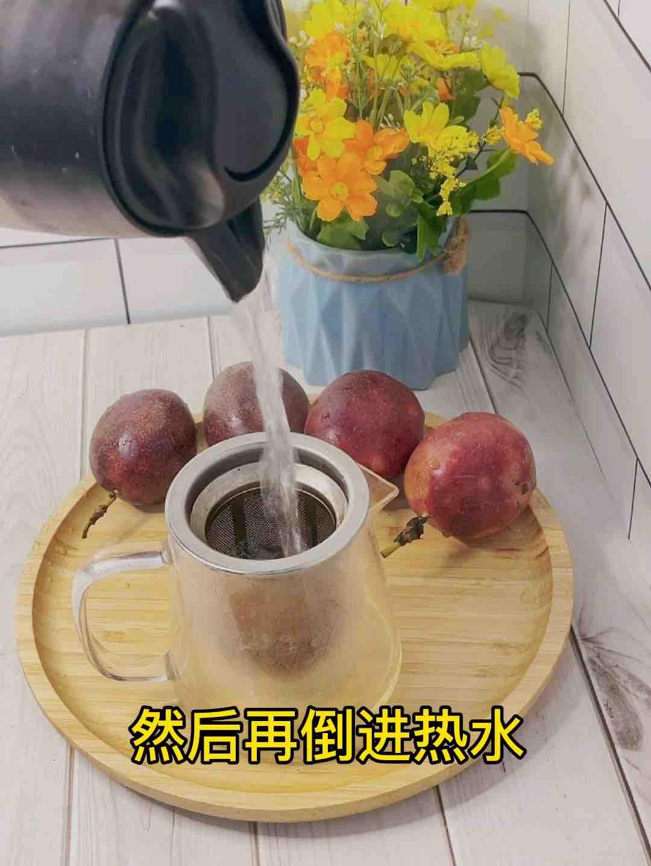 甜甜蜜蜜百香果蜂蜜茶❗️不加糖超好喝的家常做法