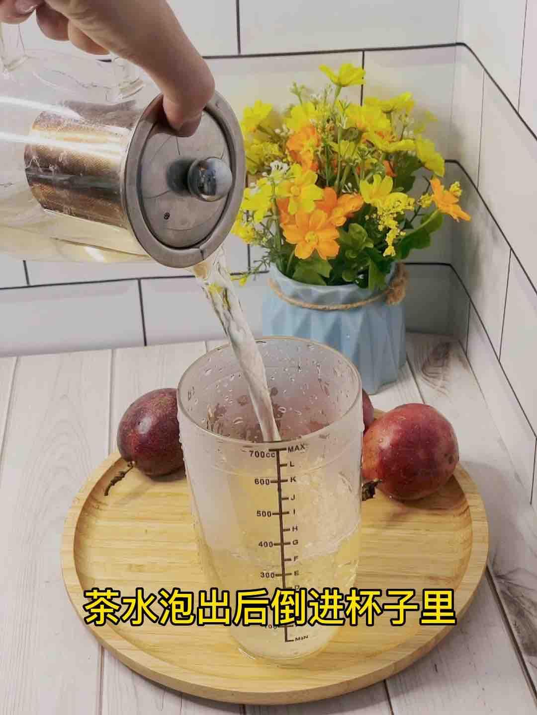 甜甜蜜蜜百香果蜂蜜茶❗️不加糖超好喝的简单做法