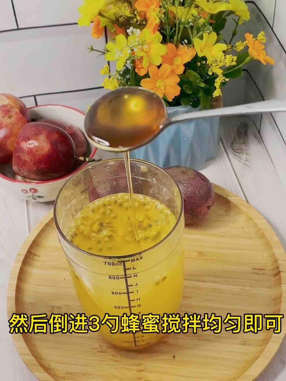 甜甜蜜蜜百香果蜂蜜茶❗️不加糖超好喝怎么炒