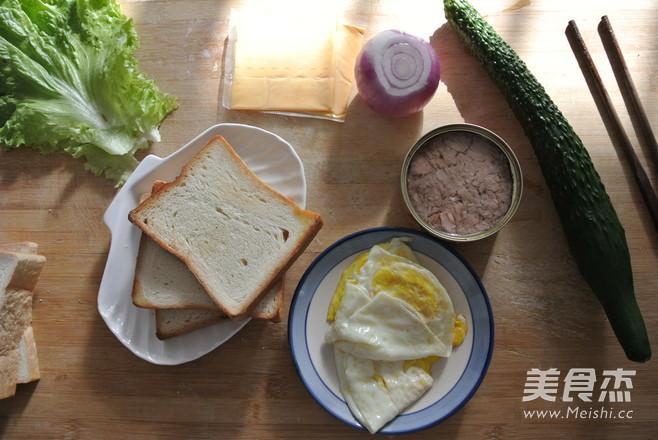 金枪鱼三明治的家常做法